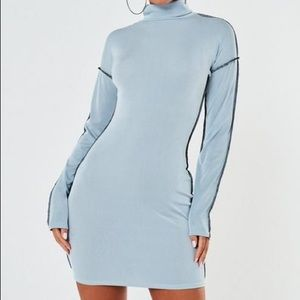 New blue missguided dress